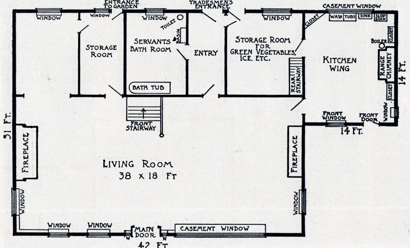 lady moody house the gravesend gazette On house plans with large living rooms