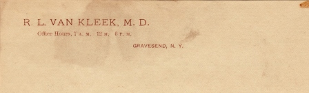 VanKleek.Richard.Lawrence.MD.stationery