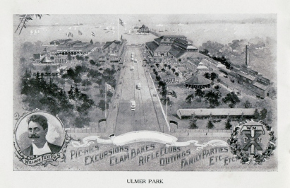 1907 overview of William Texter's Ulmer Park. [Collection of Joseph Ditta]