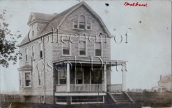 Real photo postcard view of 1634 West 2nd Street. {Collection of Joseph Ditta}